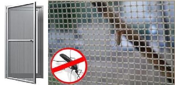 Plase de insecte si tantari pentru geam termopan